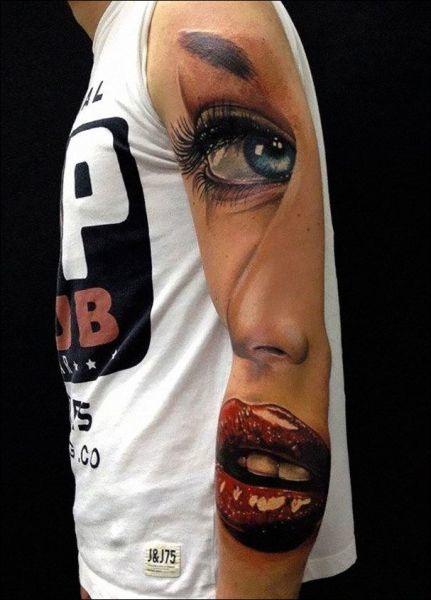 Tattoos frauen oberarm