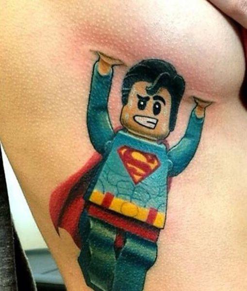 Die Besten 100 Bilder In Vielen Kategorien Lustige Tattoos Lego