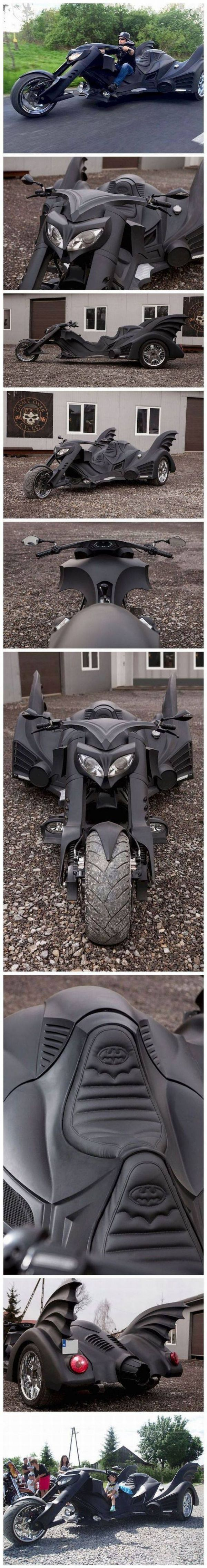 Batman, Trike, motorcycle
