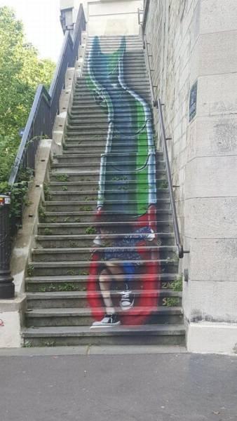 Die besten 100 Bilder in der Kategorie graffiti: Grafitti, Rutsche, Treppen