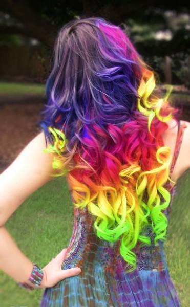 Frisuren Frisur Regenbogen Farben Die Besten 100 Bilder In Vielen Kategorien