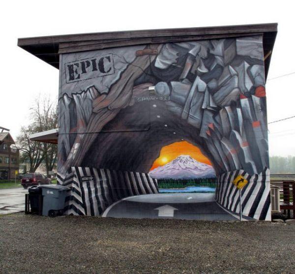 Die besten 100 Bilder in der Kategorie graffiti: Auto, Grafitti, optische Täuschung, Illusion