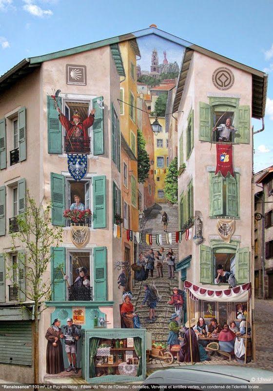 Die besten 100 Bilder in der Kategorie graffiti: Fußgänger, Grafitti, Optische Täuschung, Hauswand