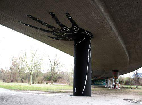 Die besten 100 Bilder in der Kategorie graffiti: Brücke, Pfeiler, Hand, Grafitti, stark