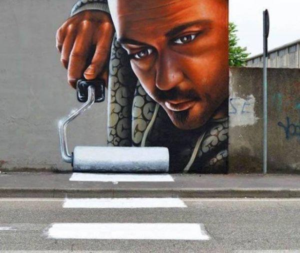 Die besten 100 Bilder in der Kategorie graffiti: Grafitti, Zebrastreifen, malen, kreativ