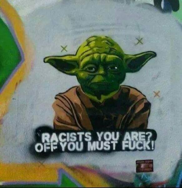 Die besten 100 Bilder in der Kategorie graffiti: Star Wars, Rassisten, Grafitti