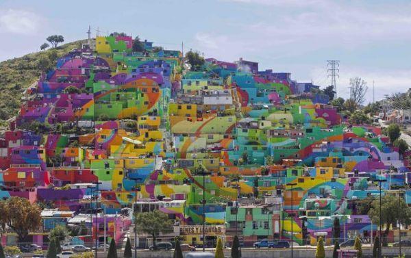 Die besten 100 Bilder in der Kategorie graffiti: Dorf, Häuser, Kunst, bunt, Grafitti