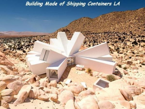 Container, design, house, desert