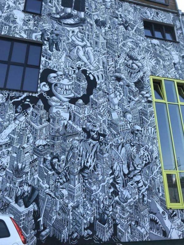 Die besten 100 Bilder in der Kategorie graffiti: Grafitti, Comic, Stadt, Wimmelbild