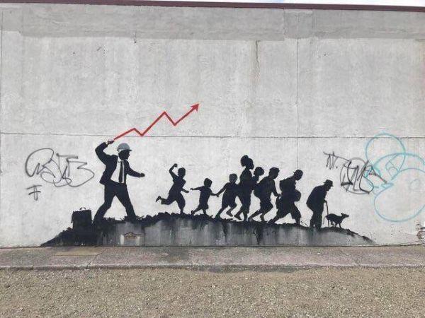 Die besten 100 Bilder in der Kategorie graffiti: Wirtschaft, Ausbeutung, Proletariat, Peitsche
