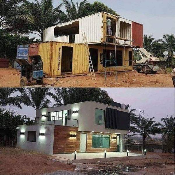 Container, home, living, design, awesome