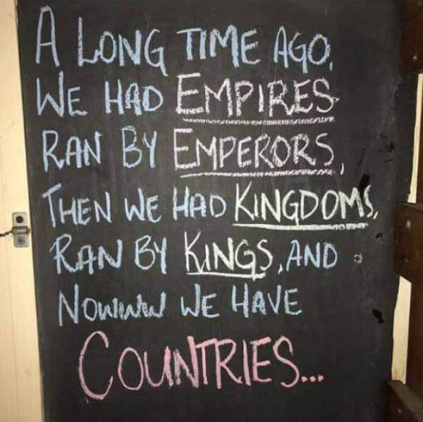 Empires, kingdoms, countries, Kings, Emperors