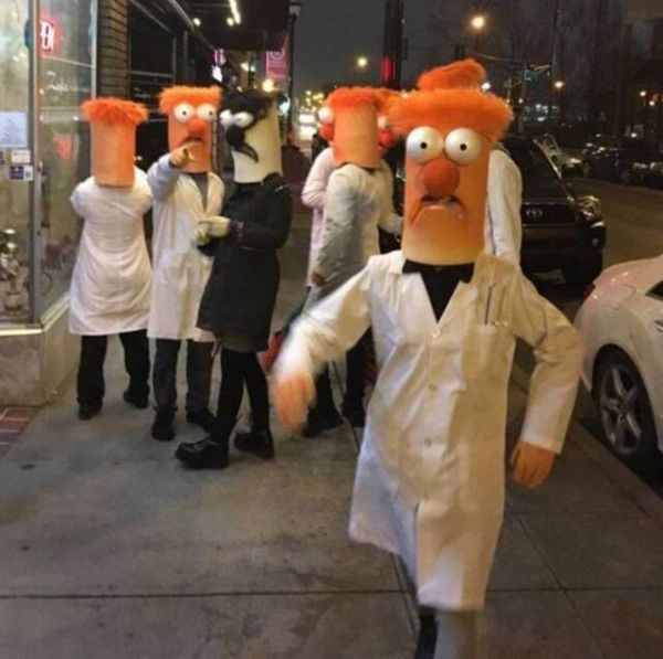 The Muppets, Mr Beaker, scientist, costume