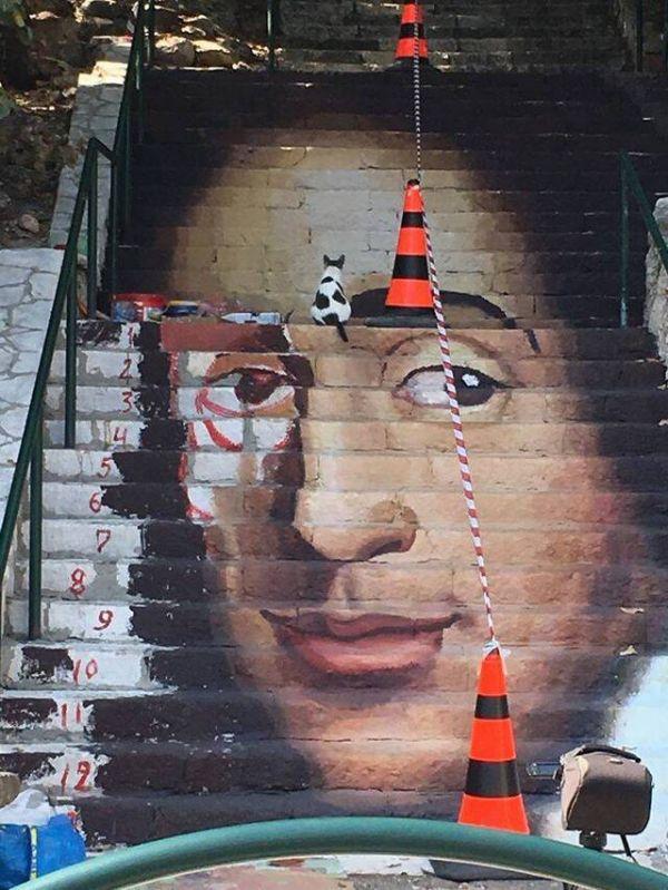 Die besten 100 Bilder in der Kategorie graffiti: Graffiti, Portrait, 3D, Kunst