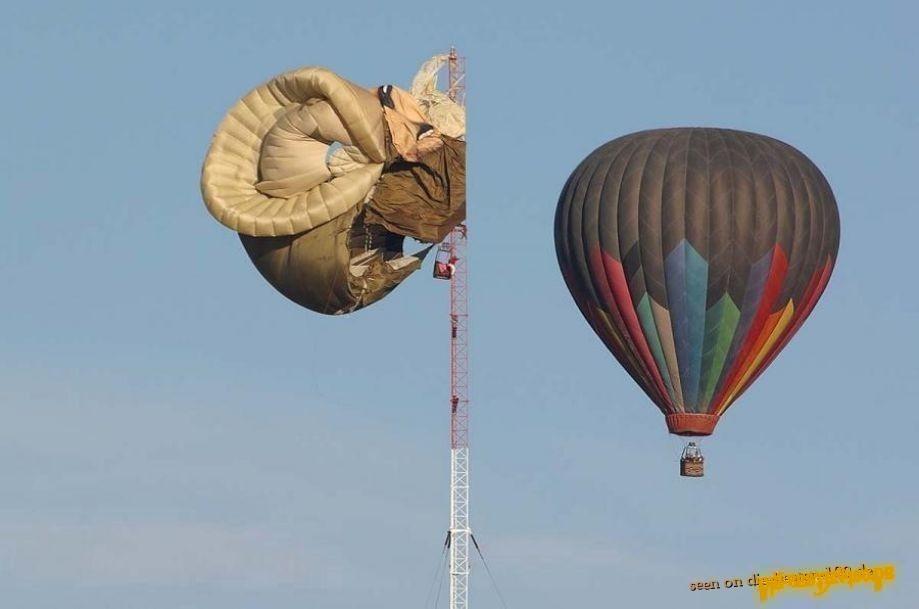 Heißluftballon Unfall