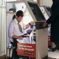 Die besten Bilder in der Kategorie werbung: Werbung auf Geldautomat