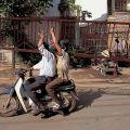 Die besten Bilder in der Kategorie transport: Transport eines Stahl-Geländers