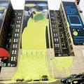 Die besten Bilder in der Kategorie werbung: Gelbe Farbe kommt aus Werbeplakat für Farben