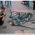 Die besten Bilder in der Kategorie strassenmalerei: Tote Fliege