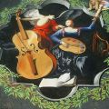 Die besten Bilder in der Kategorie strassenmalerei: Engel mit Bass