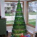 Die besten Bilder in der Kategorie kunst: Bierflaschen-Weihnachtsbaum