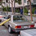 Die besten Bilder in der Kategorie shit_happens: Feuerwehrschlauch durchs Auto - Shit happens