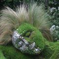 Die besten Bilder in der Kategorie kunst: Gras Skulptur