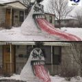 The Best Pics:  Position 41 in  - Funny  : Kiss-Schneemann