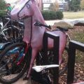 The Best Pics:  Position 44 in  - Funny  : Pimp ya Bike - Einhorn-Fahrrad-Verkleidung - Unicorn
