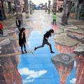 Die besten Bilder in der Kategorie strassenmalerei: 3D Straßenmalerei
