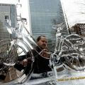 Die besten Bilder in der Kategorie Vote: Amazing Ice Sculpture - Bicycle