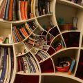 Die besten Bilder in der Kategorie moebel: Verrücktes Bücherregal