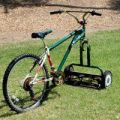 Die besten Bilder in der Kategorie clever: Bicycle lawn mower
