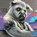 Die besten Bilder in der Kategorie graffiti: Human Pig
