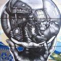 Die besten Bilder in der Kategorie graffiti: M. C. Escher Graffiti