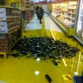 Die besten Bilder in der Kategorie shit_happens: Slippery when oily - Olive Oil Desaster in Supermarket