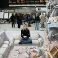 Die besten Bilder in der Kategorie strassenmalerei: Flughafen Wohnzimmer