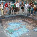 Die besten Bilder in der Kategorie strassenmalerei: 3D Ausgrabung Street Art