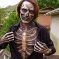 Die besten Bilder in der Kategorie bodypainting: 3D Bodypainting Skeleton