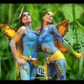 Die besten Bilder in der Kategorie bodypainting: Stuttgarter Bodypainting