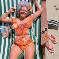 Die besten Bilder in der Kategorie bodypainting: Nice Try - Bodypainting lean Woman Fake