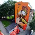 Die besten Bilder in der Kategorie graffiti: Giant House Pop-Art Grafitti