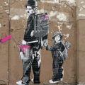 Die besten Bilder in der Kategorie graffiti: Charly Chaplin - Grafitti