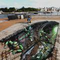 Die besten Bilder in der Kategorie strassenmalerei: Ninja Turtles Street Art