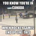 Die besten Bilder in der Kategorie Vote: You konw Your are in Canada when Hockey Games End Up Like This