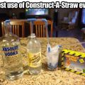 Die besten Bilder in der Kategorie clever: Best use of Contruct-A-Straw Ever
