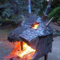 Die besten Bilder in der Kategorie kunst: Epischer Drachenkopf Grill