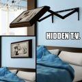 Die besten Bilder in der Kategorie clever: Hidden Flat TV