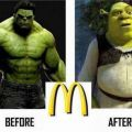 The Best Pics:  Position 46 in  - excessive, Fastfood consumption. Hulk, Action-Movies, Comedy-Area, Shrek