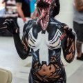 Die besten Bilder in der Kategorie bodypainting: Evil Spiderman Alien Monster Bodypainting